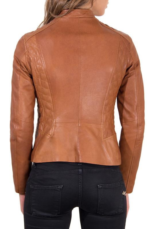 Leather jacket AD MILANO Куртки косухи