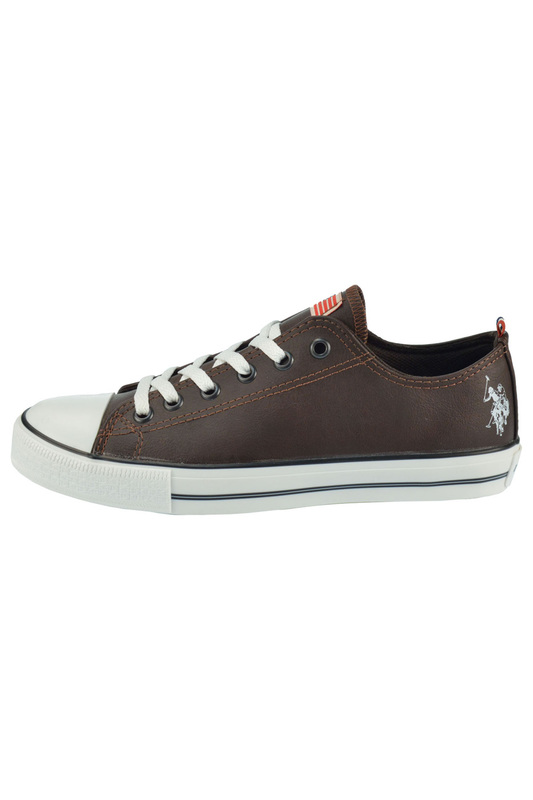 Мужские кеды U.S. Polo Assn. GYNN4344W4_Y1_MARRONE_SC_DK_BROWN