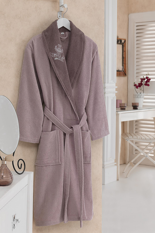 Bathrobe Cotton box Bathrobe шлепанцы graciana шлепанцы