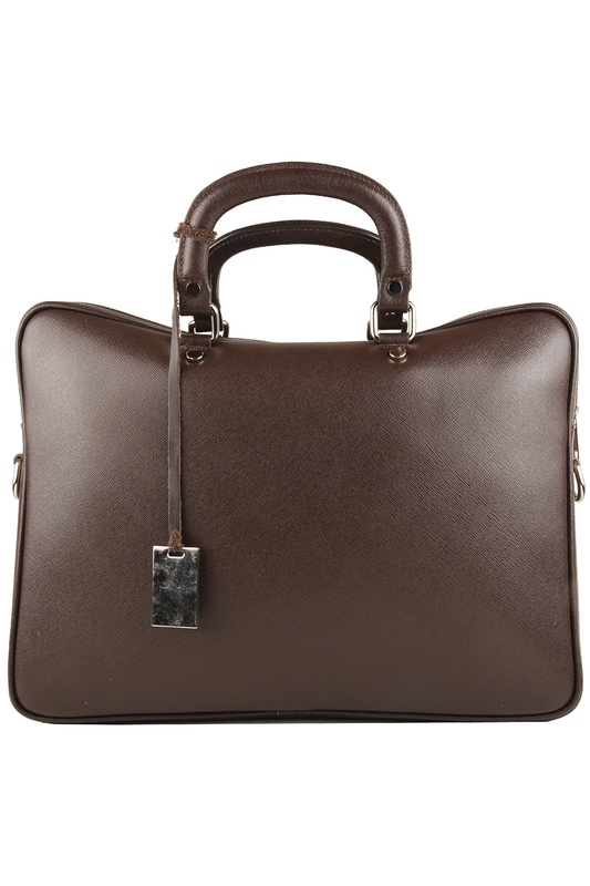 Фото - office bag Lattemiele цвет dark brown