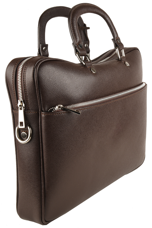 Фото 2 - office bag Lattemiele цвет dark brown