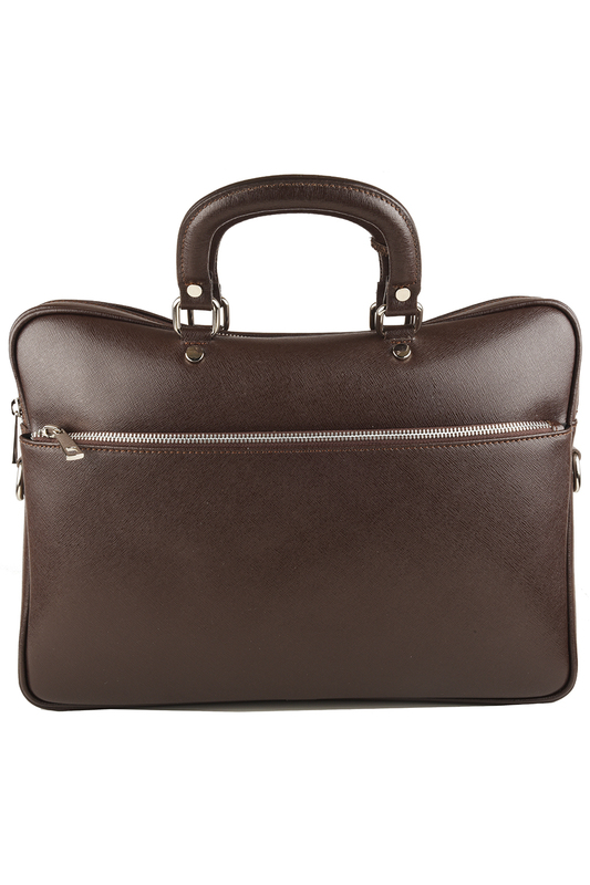 Фото 3 - office bag Lattemiele цвет dark brown