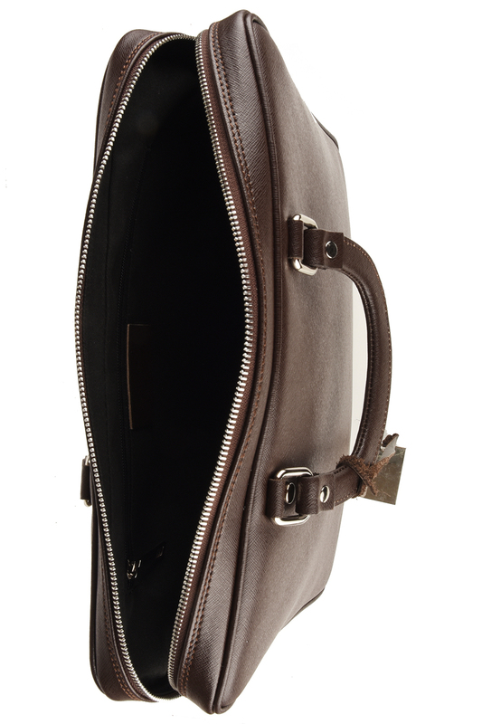 Фото 4 - office bag Lattemiele цвет dark brown