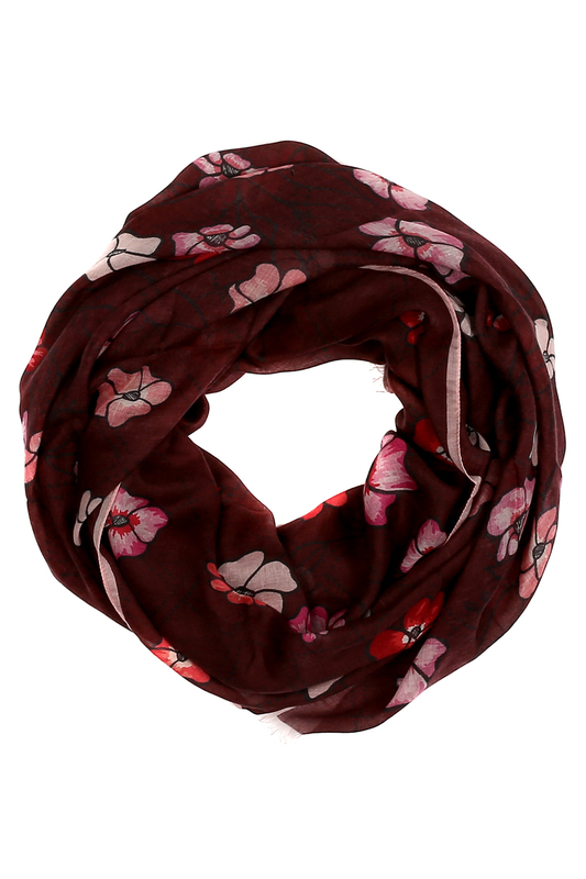 Scarf Furla Scarf charming leopard pattern gauzy scarf for women