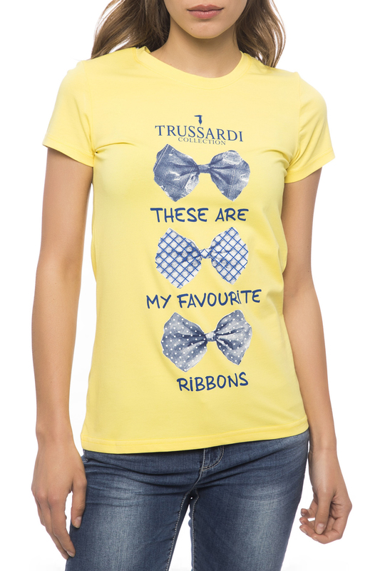 T-shirt Trussardi Collection T-shirt брюки exte брюки