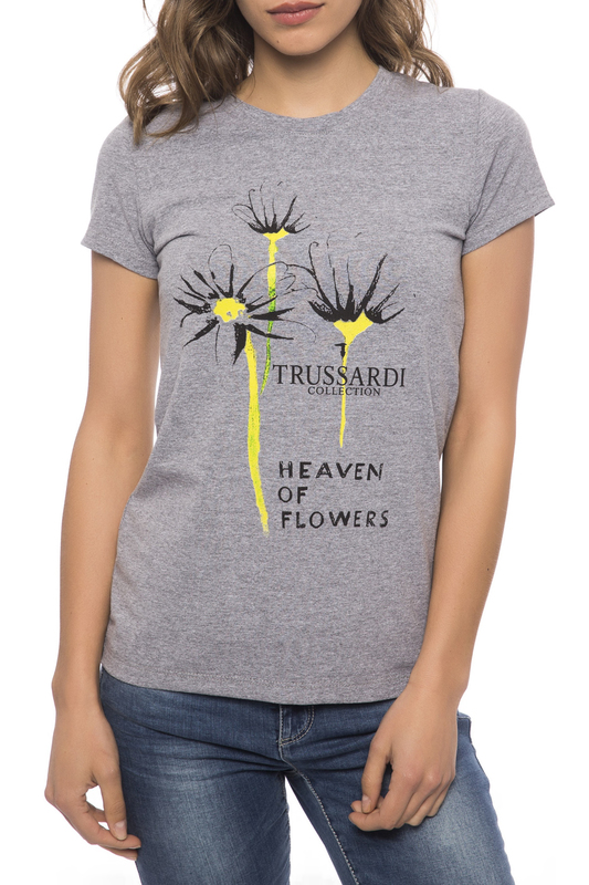 Футболка Trussardi Collection 7528_CAIRANO_GRI_MD_MD_GREY