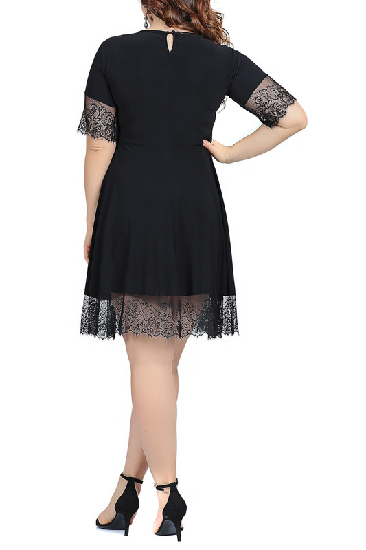 dress ANGELINO ANGELINO KL2235_BLACK