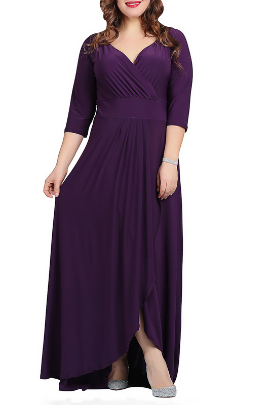 dress ANGELINO ANGELINO KL56_PURPLE