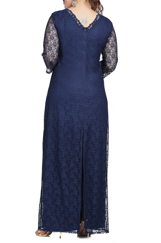dress ANGELINO ANGELINO KL201_DARKBLUE