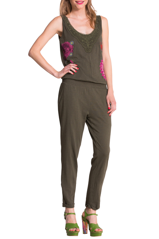 TROUSERS Desigual TROUSERS 5 pockets trousers baby blumarine 5 pockets trousers