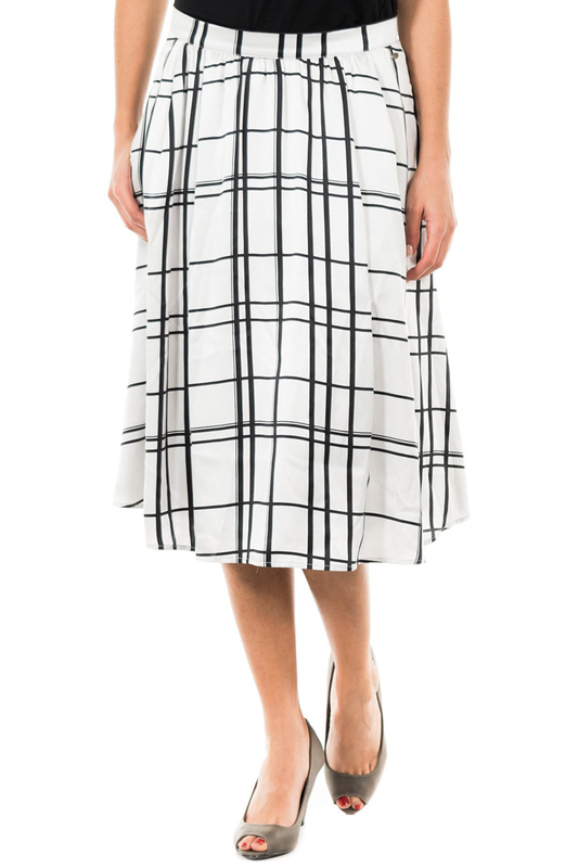 Skirt MCGREGOR Skirt knot front zip up back skirt