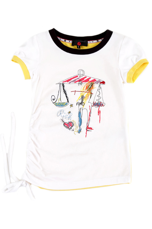 T-shirt RICHMOND JR T-shirt полотенце mona liza surf 70 х 140 см