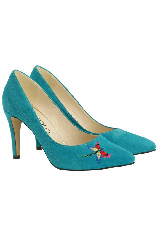 Купить SHOES BOSCCOLO, Туфли лодочки, Turquoise