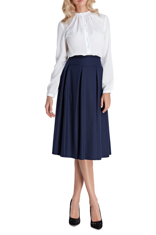 Skirt Colett Skirt knot front zip up back skirt