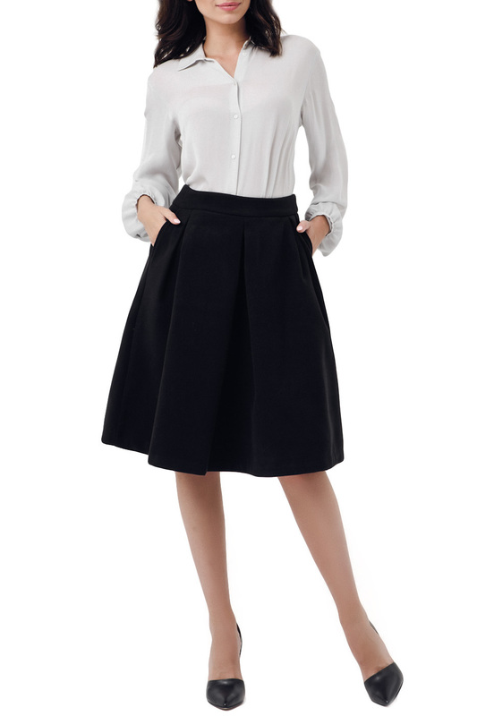 SKIRT Peperuna SKIRT knot front zip up back skirt