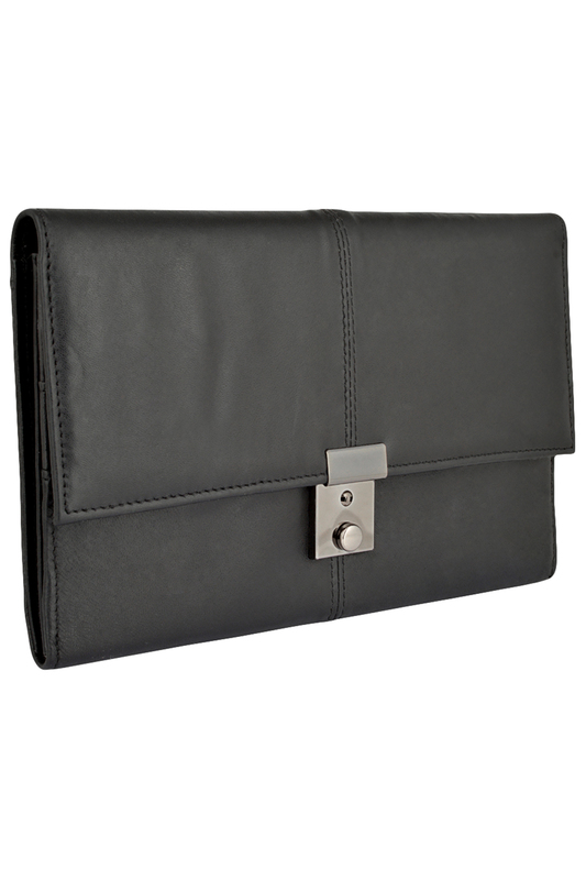 Купить Briefcase WOODLAND LEATHER цвет black
