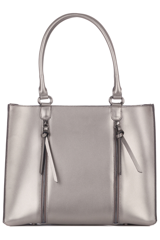 Купить Bag LAURA MORETTI, Silver