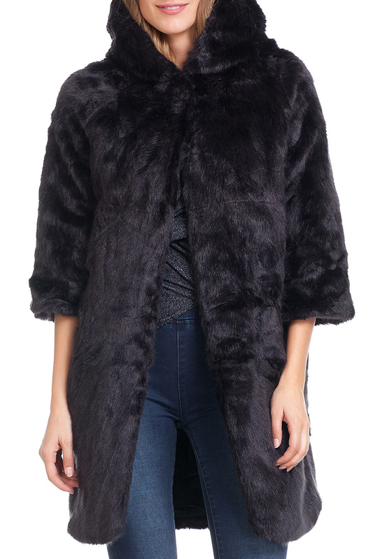 Шуба LAURA MORETTI Шуба fur coat laura moretti шубы с капюшоном