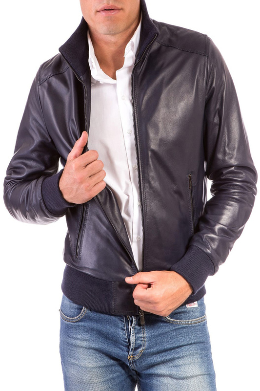 Leather jacket AD MILANO Leather jacket jacket ad milano jacket