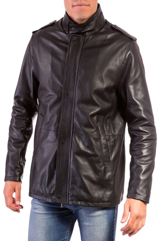 Leather jacket AD MILANO Куртки косухи брюки for restless sleepers