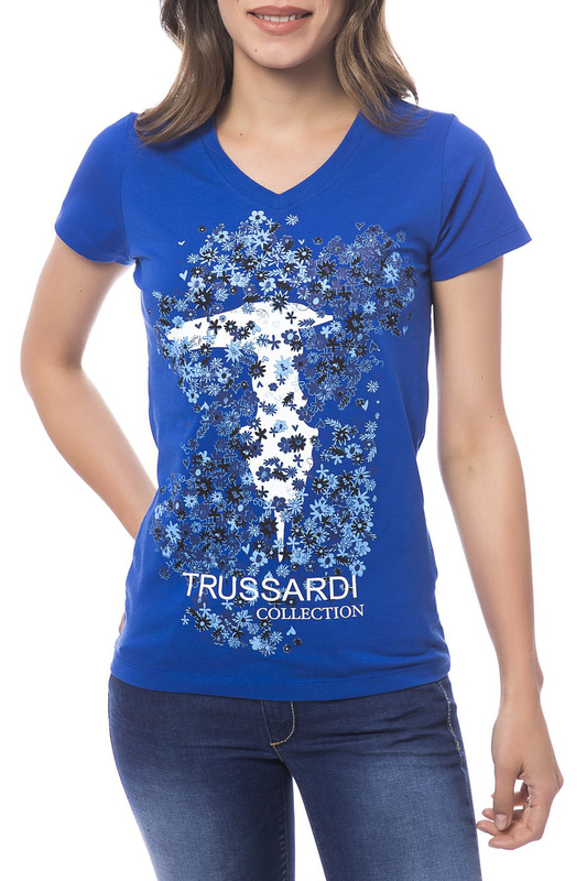 Футболка Trussardi Collection W4_LARCIANO_BLUETTE