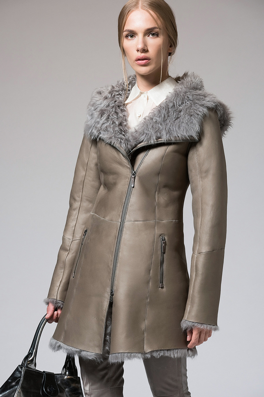 Дублёнки VESPUCCI BY VSP sheepskin coat VESPUCCI BY VSP