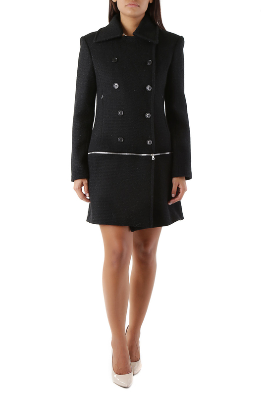 Coat John Richmond Пальто длинные baby doll parigina john richmond baby doll parigina