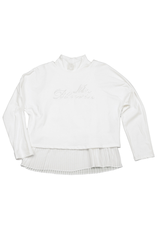 SWEATSHIRT + TOP Miss Blumarine SWEATSHIRT + TOP толстовка baby blumarine толстовка