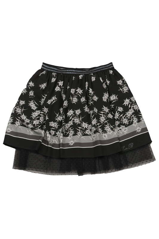 PATTERNED SKIRT Miss Blumarine PATTERNED SKIRT miss blumarine jeans одеяло