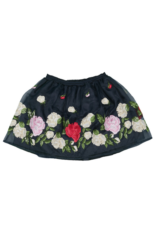 PATTERNED SKIRT Miss Blumarine PATTERNED SKIRT накидка miss blumarine page 3