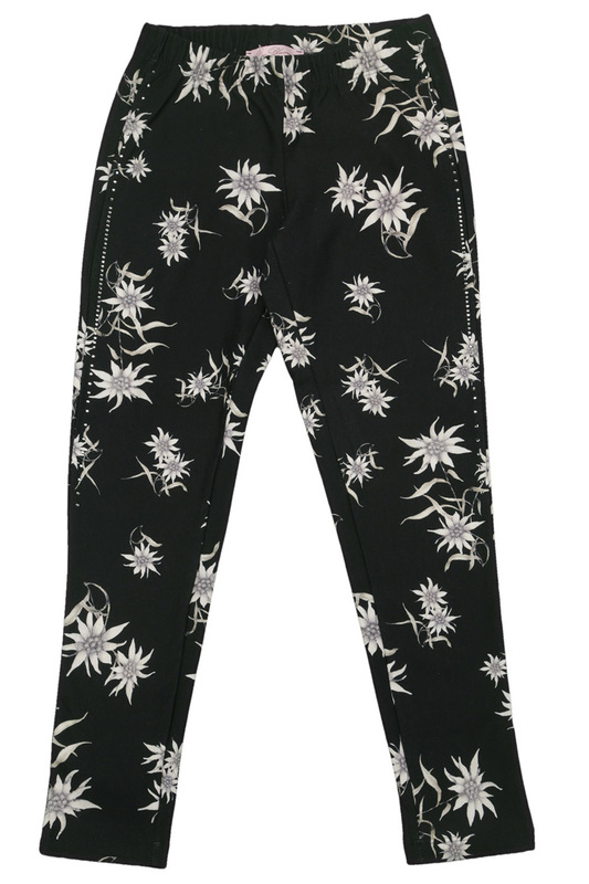 PATTERNED LEGGINGS Miss Blumarine PATTERNED LEGGINGS накидка miss blumarine page 3
