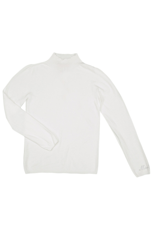 TURTLE-NECK SWEATER Miss Blumarine TURTLE-NECK SWEATER сапоги stuart weitzman сапоги короткие