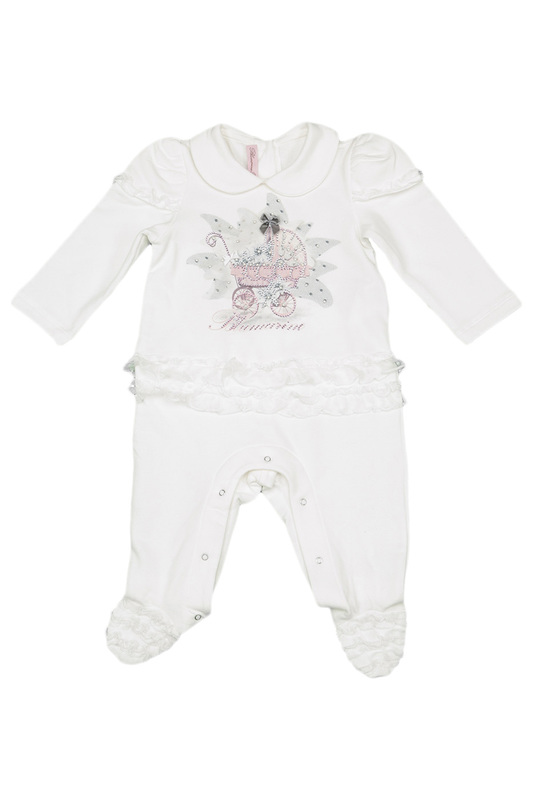 ROMPERS IN A BOX BLUMARINE NEWBORN