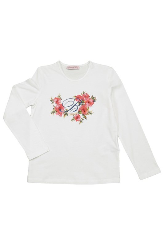 PRINTED T-SHIRT BABY BLUMARINE PRINTED T-SHIRT v neck 3d graphic printed t shirt