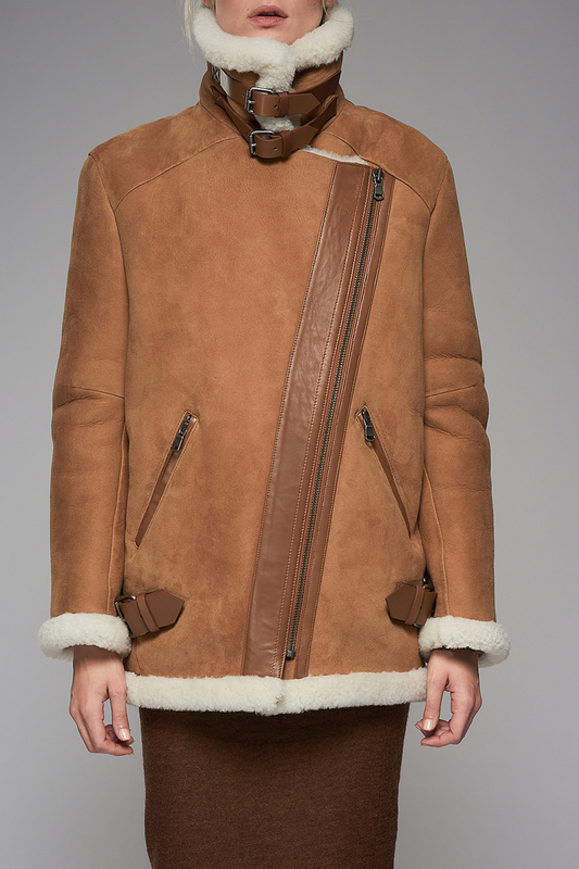 sheepskin coat VESPUCCI BY VSPsheepskin coat