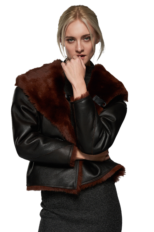 sheepskin coat VESPUCCI BY VSP sheepskin coat блуза бант blagof блузы с бантом page