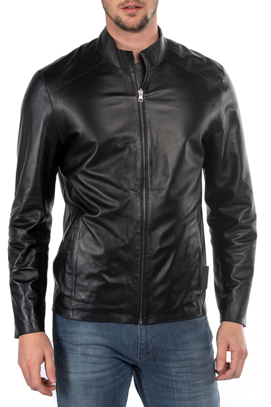 leather jacket MIO CALVINO Куртки косухи кастрюля 2 5 л zh corporation кастрюля 2 5 л page 11