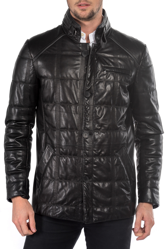 leather jacket MIO CALVINO Куртки косухи 1pcs laoa high quality guaranteed 100