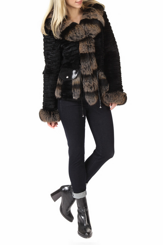half-length coat FUNK since 1776 half-length coat half length fur coat manakas half length fur coat