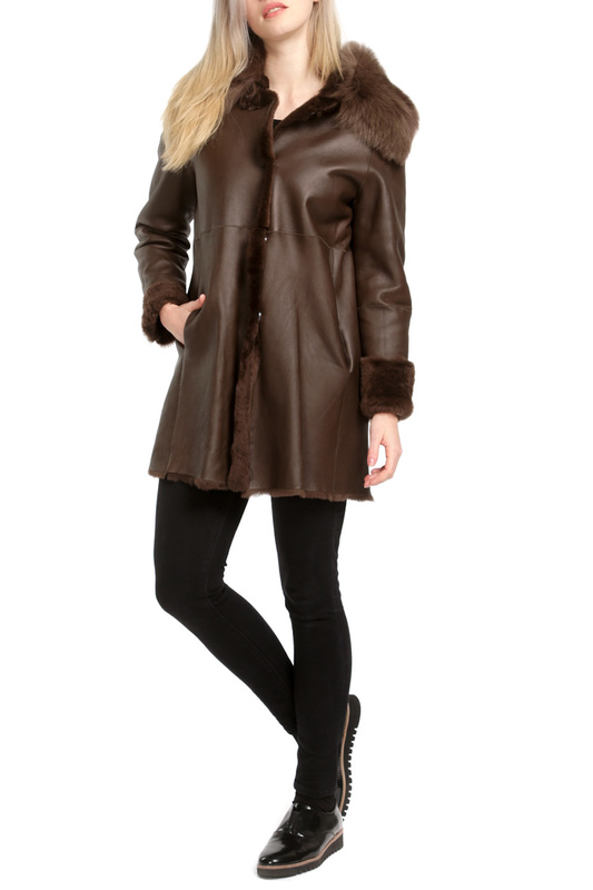 sheepskin coat ARMA Collection Ladies sheepskin coat cloak stylove плащи длинные page 2