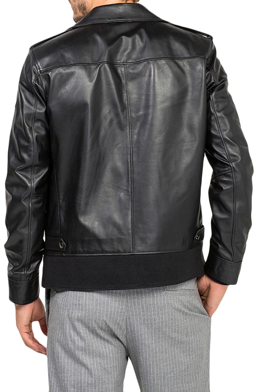 Leather Jacket JIMMY SANDERS Куртки косухи