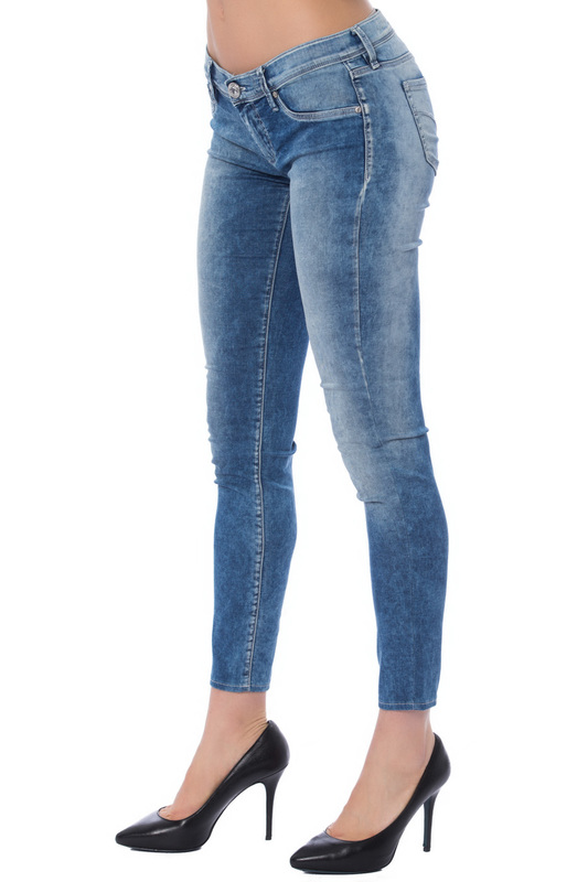 jeans Gas jeans stylish pocket design skinny capri ripped jeans for women
