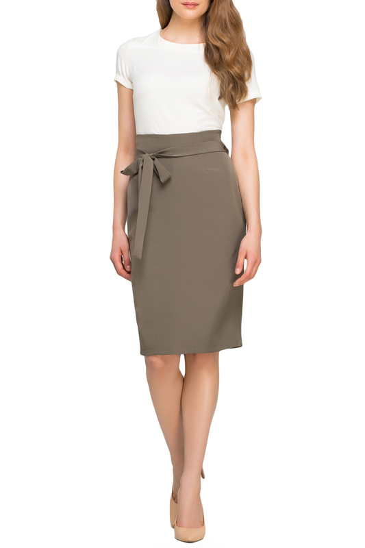 Skirt LANTI Skirt solid pleated skirt