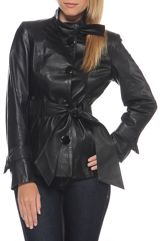 leather jacket MIO CALVINO leather jacket coat mio calvino coat page 3