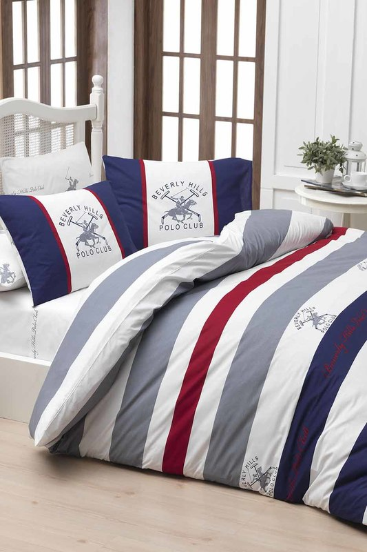 bed linen, 2 SP Beverly Hills Polo Club bed linen, 2 SP tree design linen sofa decorative throw pillowcase