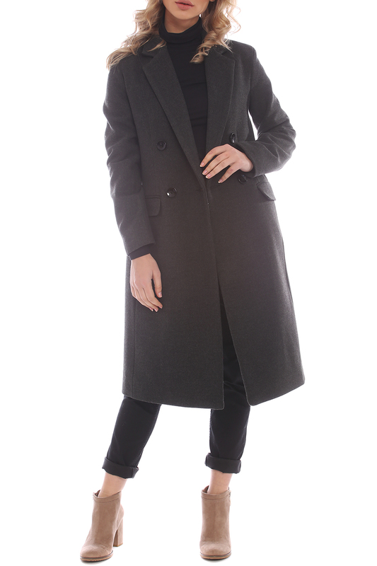 Купить Coat Moda di Chiara, Black