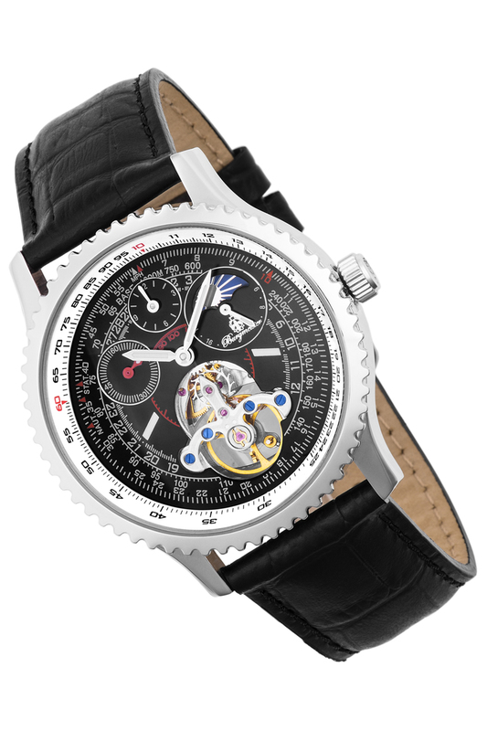 Фото - automatic watch Burgmeister automatic watch carnival mens business fluoresecent luminous automatic mechanical watch wristwatch silver bezel white dial