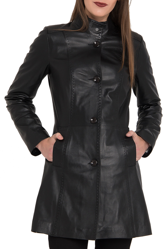 leather coat GIORGIO DI MARE Пальто длинные украшение подвес 14х2х11 см monte christmas