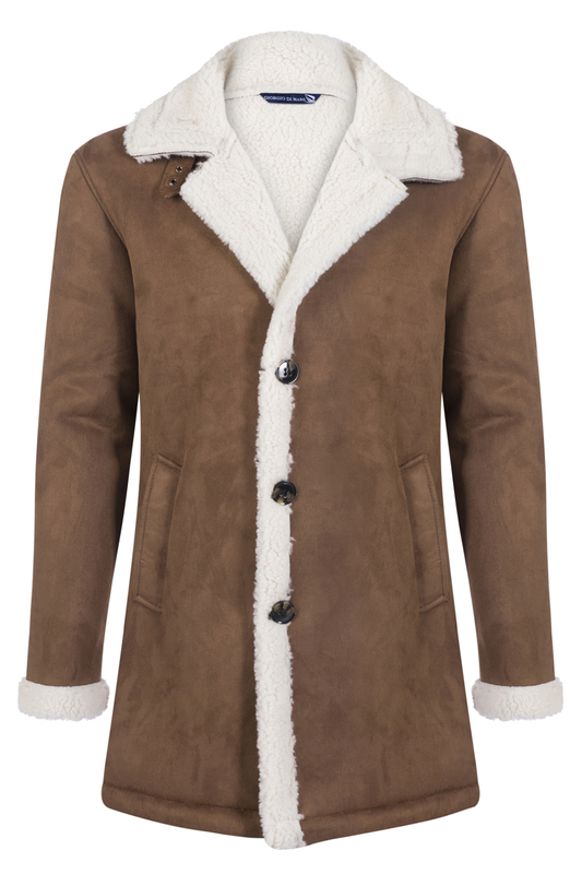sheepskin coat GIORGIO DI MARE Дубленки длинные sheepskin coat ad milano sheepskin coat