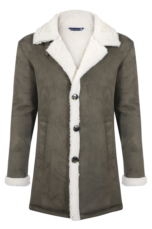 sheepskin coat GIORGIO DI MARE Дубленки длинные sheepskin coat giorgio di mare sheepskin coat